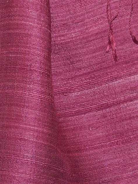 Echarpe en soie naturelle filée et tissée à la main par les artisanes des villages du Laos - artisanat authentique et équitable - code 201192-f3