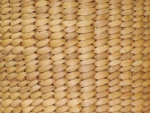 Paniers corbeilles en jacinthe d'eau tressé à la main par les artisanes des villages du Cambodge - artisanat équitable - code 303101T-f3