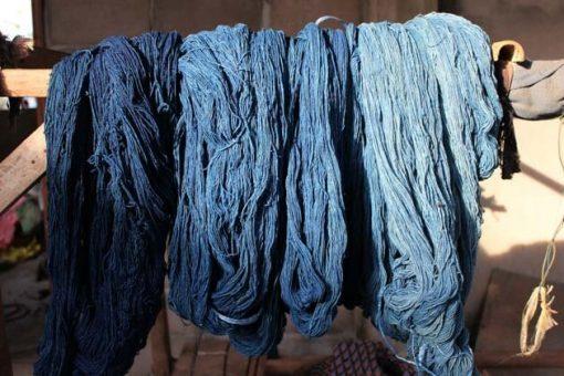 Frangipanier boutique en ligne commerce equitable coton teinture indigo