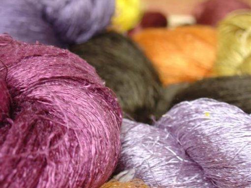 Frangipanier boutique en ligne commerce equitable écheveaux soie naturelle