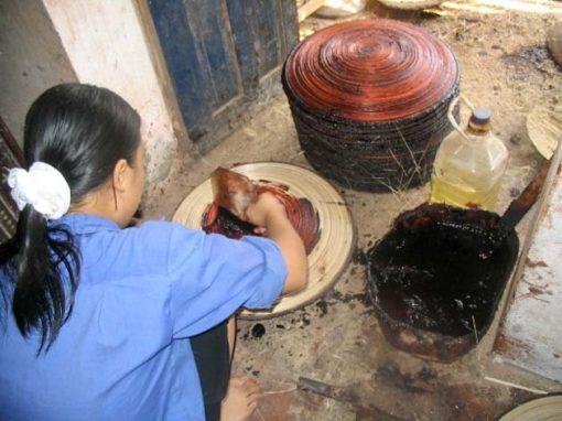 Frangipanier boutique en ligne commerce equitable artisane bambou laquage vietnam