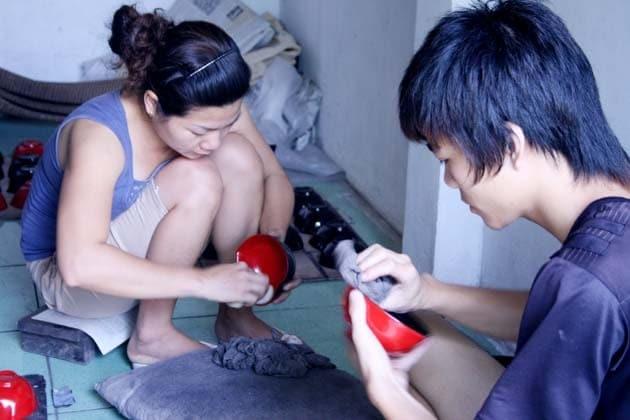 Frangipanier boutique en ligne commerce equitable artisanat bois laque vietnam