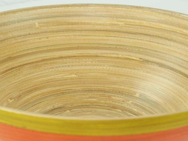 Plat en bambou artisanat des villages du Vietnam - commerce équitable - code 4016113-f4
