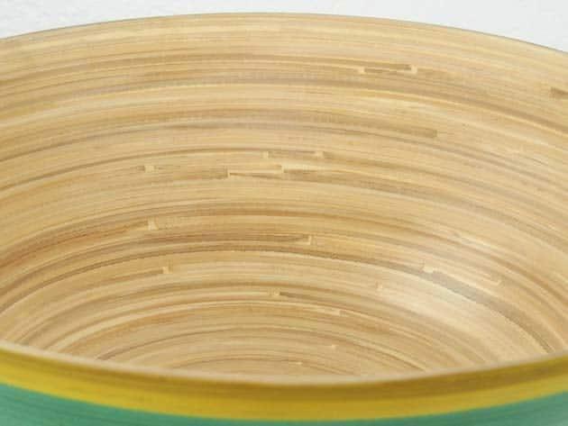 Plat en bambou artisanat des villages du Vietnam - commerce équitable - code 4016114-f4