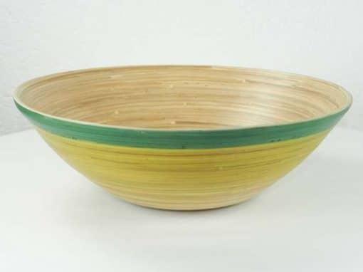 Plat en bambou artisanat des villages du Vietnam - commerce équitable - code 4016115