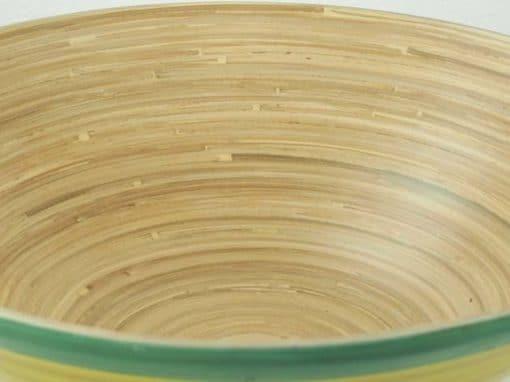 Plat en bambou artisanat des villages du Vietnam - commerce équitable - code 4016115-f4