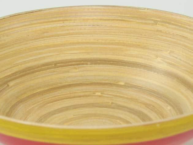 Plat en bambou artisanat des villages du Vietnam - commerce équitable - code 4016116-f4