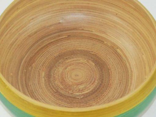 Plat en bambou artisanat des villages du Vietnam - commerce équitable - code 401617-f4