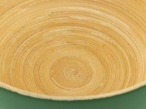 Bol en bambou artisanat des villages du Vietnam - commerce équitable - code 4016118-f4