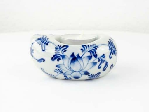 Bougeoir en céramique artisanat des villages du Vietnam - commerce équitable - code 4016172-f2