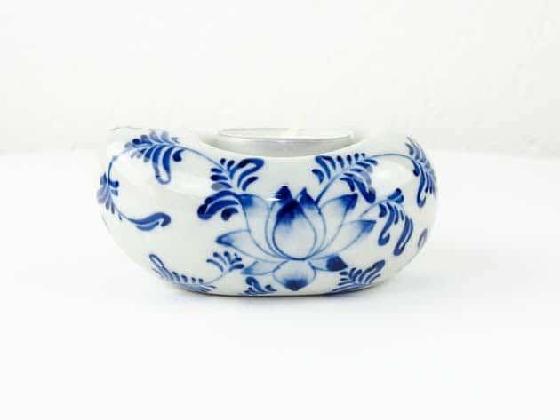 Bougeoir en céramique artisanat des villages du Vietnam - commerce équitable - code 4016172-f3