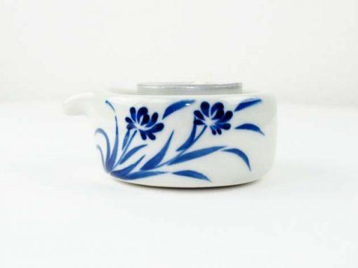 Bougeoir en céramique artisanat des villages du Vietnam - commerce équitable - code 4016173-f2