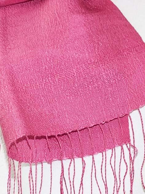 Echarpe, foulard en soie naturelle filée et tissée à la main - artisanat cadeau équitable du Laos - code 201173-f3