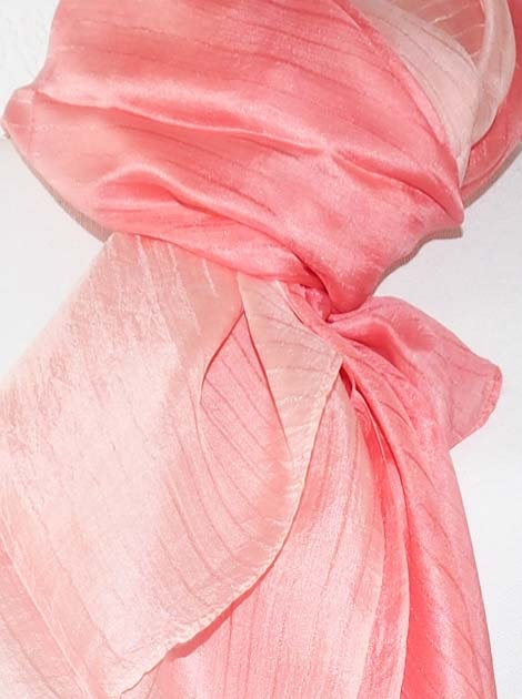Foulard en soie naturelle tissé à la main - artisanat cadeau équitable du Cambodge - code 305106-f2