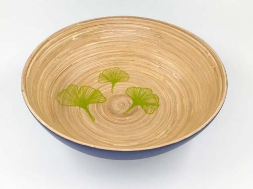 Plat en bambou artisanat des villages du Vietnam - commerce équitable - code 401916-f2