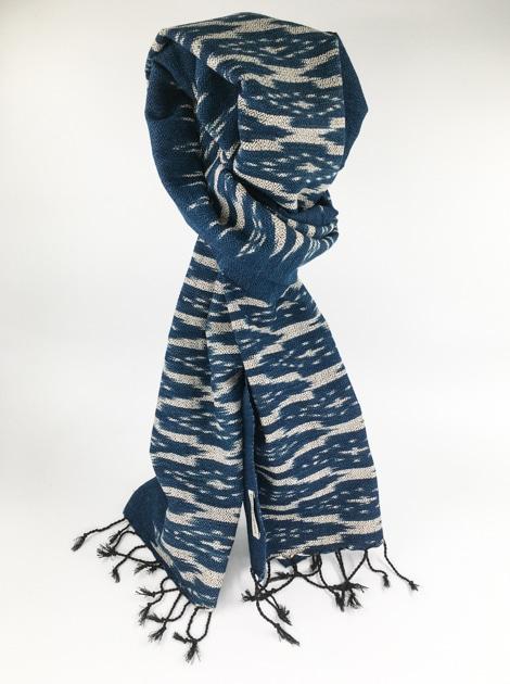frangipanier-commerce-equitable-echarpe-foulard-coton-laos-201175C-011